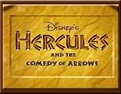 Hercules And The Comedy Of Arrows Cartoon Funny Pictures