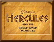 Hercules And The Green-Eyed Monster Free Cartoon Picture