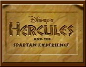 Hercules And The Spartan Experience Cartoon Picture