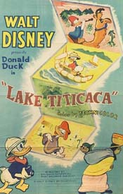 Lake Titicaca Cartoon Picture