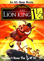 The Lion King 1½ Picture Into Cartoon