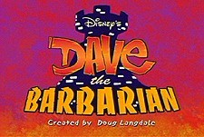 Dave The Barbarian Episode Guide Logo