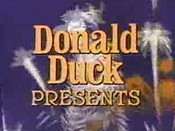 Donald Duck Presents (Series) The Cartoon Pictures