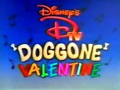 Disney's DTV Doggone Valentine Pictures To Cartoon