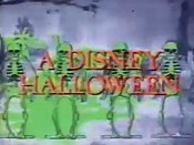 A Disney Halloween Cartoon Picture