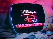 Disney's DTV Valentine Picture Into Cartoon