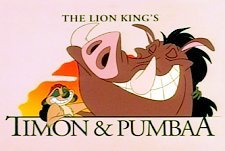 The Lion King's Timon and Pumbaa Episode Guide Logo