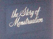 The Story Of Menstruation Cartoon Picture