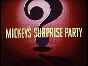Mickey's Surprise Party Video
