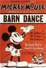 Barn Dance Picture Into Cartoon
