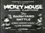 The Barnyard Battle The Cartoon Pictures