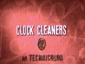 Clock Cleaners Cartoon Picture