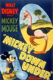 Mickey Down Under Cartoon Picture