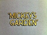 Mickey's Garden Picture Of Cartoon