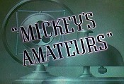 Mickey's Amateurs Cartoon Picture