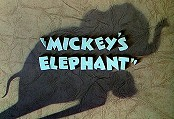 Mickey's Elephant Picture Of Cartoon