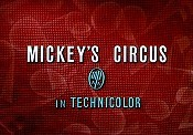 Mickey's Circus Cartoon Picture