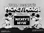 Mickey's Revue Picture Of Cartoon