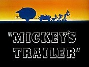 Mickey's Trailer Picture To Cartoon