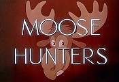 Moose Hunters Cartoon Picture