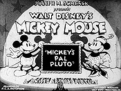 Mickey's Pal Pluto Cartoon Picture