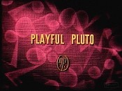 Playful Pluto Cartoon Picture