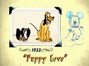 Puppy Love Cartoon Picture
