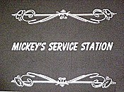 Mickey's Service Station Picture Into Cartoon