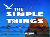 The Simple Things Cartoon Picture