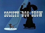 Society Dog Show Cartoon Picture