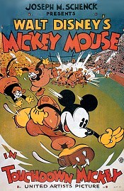 Touchdown Mickey Cartoon Picture
