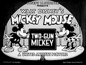 Two-Gun Mickey Cartoon Picture