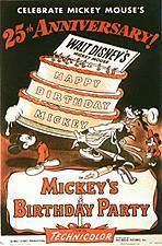 Mickey's Birthday Party Cartoon Picture