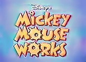 Mickey MouseWorks (Series) Picture Into Cartoon