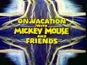On Vacation With Mickey Mouse And Friends Cartoon Picture