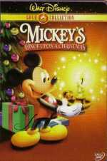 Mickey's Once Upon A Christmas Picture To Cartoon