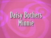 Daisy Bothers Minnie Cartoon Picture