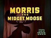 Morris The Midget Moose Picture To Cartoon