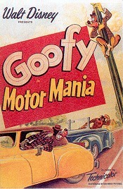Motor Mania Cartoon Character Picture