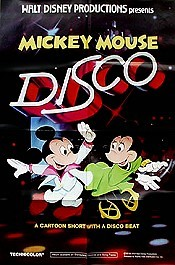 Mickey Mouse Disco Cartoon Picture