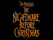 The Nightmare Before Christmas Cartoon Character Picture