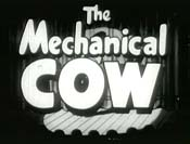 The Mechanical Cow Cartoon Picture