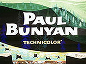 Paul Bunyan Cartoon Picture
