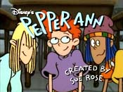 The Merry Lives Of Pepper Ann Cartoon Picture