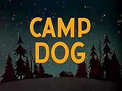 Camp Dog Free Cartoon Picture