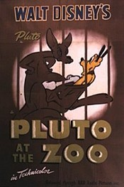 Pluto At The Zoo Cartoon Funny Pictures