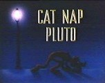 Cat Nap Pluto Free Cartoon Picture