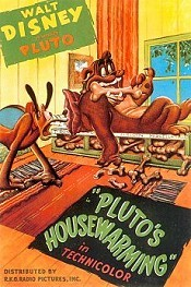 Pluto's Housewarming Picture Into Cartoon