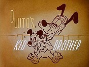 Pluto's Kid Brother Free Cartoon Picture