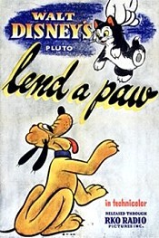 Lend A Paw Cartoon Character Picture